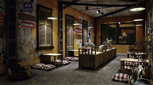 Mẫu quán Coffe đep tại Hà Nội