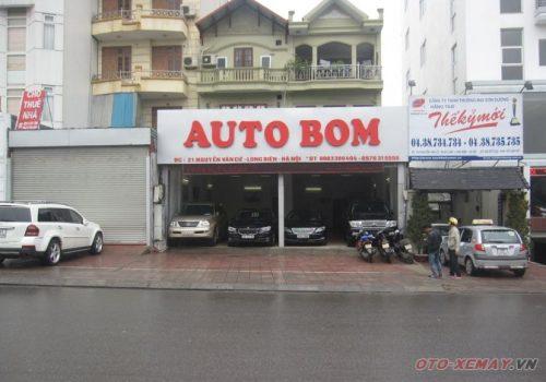 Biển quảng cáo gara oto Bom