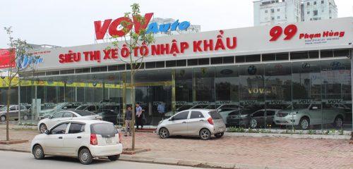 Biển quảng cáo gara oto VOV