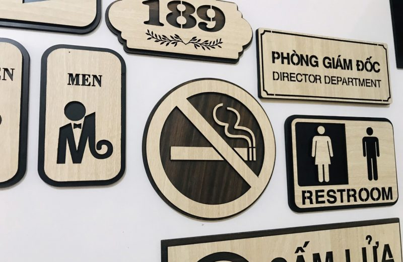 Biển Cấm Hút Thuốc , Biển No Smoking