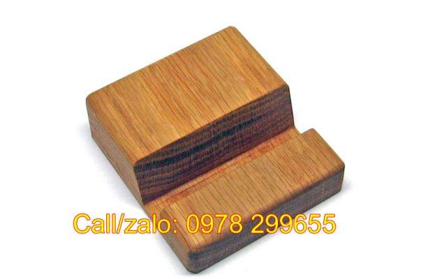Biển đế gỗ dựng namecard đẹp
