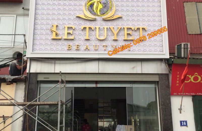 Tổng hợp các mẫu biển quảng cáo Beauty Spa