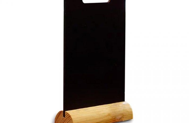Biển menu gỗ để bàn
